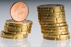 Free Coins Stock Photography - 13611262