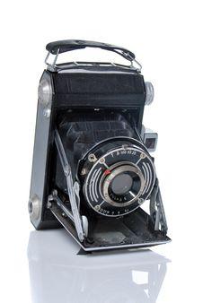 Free Antique Photo Camera Royalty Free Stock Photo - 13611505