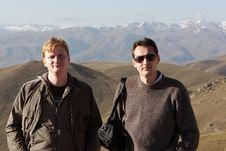 Free Two Man Posing Outdoor Stock Image - 13611541