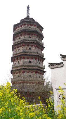 Free Pagoda Royalty Free Stock Image - 13611616