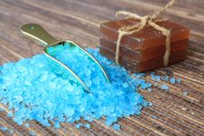 Free Sea Salt Royalty Free Stock Photo - 13611765