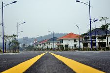 Free Highway And Villa Stock Photography - 13611822