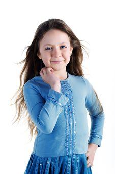 Free Beautiful Little Girl Stock Image - 13611951