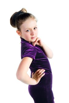 Free Cute Little Girl Stock Photography - 13612052