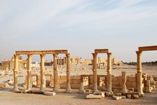 Free Syria, Palmyra. Royalty Free Stock Photography - 13612407