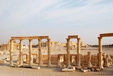 Free Syria, Palmyra. Royalty Free Stock Photography - 13612407