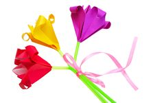 Free Bouquet Of Paper Flowers Stock Photos - 13612673