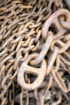 Free Rusty Chains Stock Photos - 13612973
