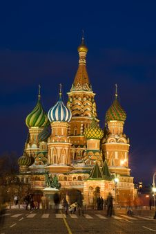 Free Moscow. Saint Basil S Cathedral Stock Images - 13613884