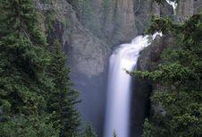 Free Tower Falls, Yellowstone Stock Photos - 13614123