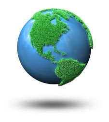 Free Green Globe Stock Photos - 13614163