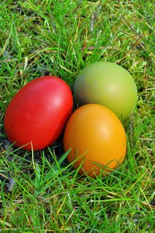 Free Easter Eggs Royalty Free Stock Photography - 13614277