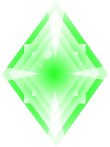 Free Green Crystal Stock Photos - 13614873