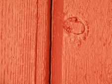 Red Painted Wooden Surface Royalty Free Stock Photos