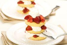 Free Strawberry Shortake Stock Images - 13616394