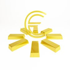 Free Euro Sign Stock Image - 13616571