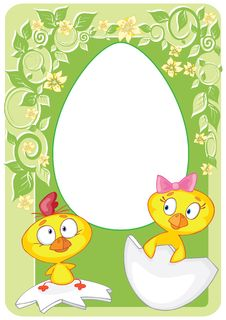Free Easter Card Stock Photography - 13616872