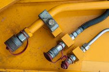 Free Hydraulic Connector Royalty Free Stock Photography - 13617257