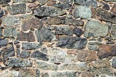 Medieval Wall Brick Texture Or Background Royalty Free Stock Photo