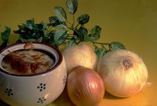Free French Onion Soup Royalty Free Stock Images - 13618019