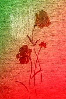 Free Gently Poppies On The Canvas. Stock Photo - 13618360