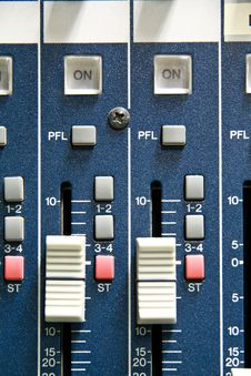 Free Sound Mixer Stock Image - 13618821