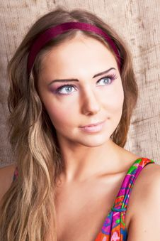 Free Country Girl Stock Photo - 13618840