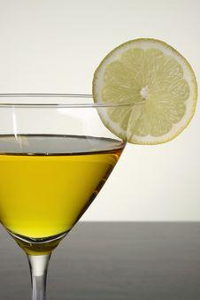 Free Lemon Drop Martini Stock Photography - 13619622