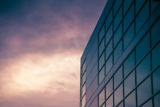 Free Glass Windows Of A Building Stock Images - 136157374