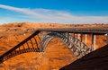Free Bridge Over Glen Canyon Stock Photo - 13627180