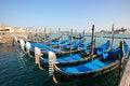 Free Gondolas In Venice Stock Photography - 13627502
