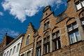 Free Flemish Houses Facades In Belgium Stock Image - 13627591
