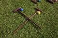 Free Croquet Equipment Stock Photography - 13628342