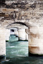 Free Bridge Detail Over The Seine In Paris Royalty Free Stock Photos - 13628518