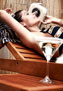 Free Woman Relaxing On Vacation Royalty Free Stock Photo - 13628605