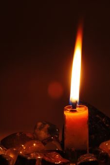 Free Candle Royalty Free Stock Photos - 13620208