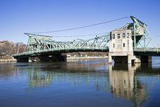 Historic Bridge In Joliet Stock Photos