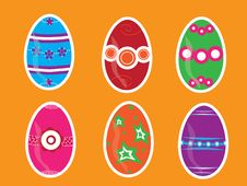Free Easter Eggs Royalty Free Stock Photography - 13621807