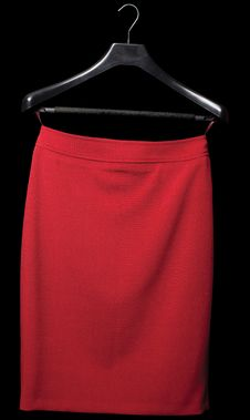 Free Red Skirt Stock Image - 13621821