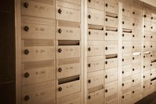 Free Letter Box Stock Image - 13622241