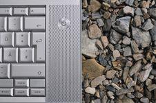 Free Keys And Stones Stock Photo - 13623220