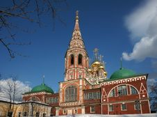 Free Ancient Monastery In Russia. Stock Image - 13623241