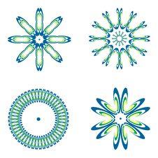 Free Decorative Design Elements. Set 4. Stock Photo - 13623400