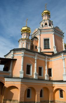 Free Russian Temple. Royalty Free Stock Photography - 13623487