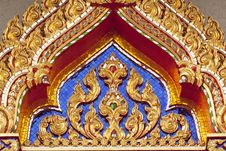 Free Temple Of Thailand Royalty Free Stock Photos - 13624168