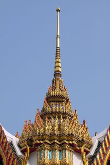 Free Temple Of Thailand Stock Photo - 13624230