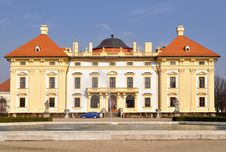 Free Beautiful Castle Slavkov-Austerlitz,Czech Republic Stock Image - 13624421
