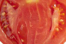 Free Red Tomato Slice Royalty Free Stock Photos - 13624448