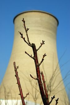 Free A Big Power Station Royalty Free Stock Photography - 13625547