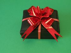 Free Gift Box With Red Ribbon Stock Photos - 13625583